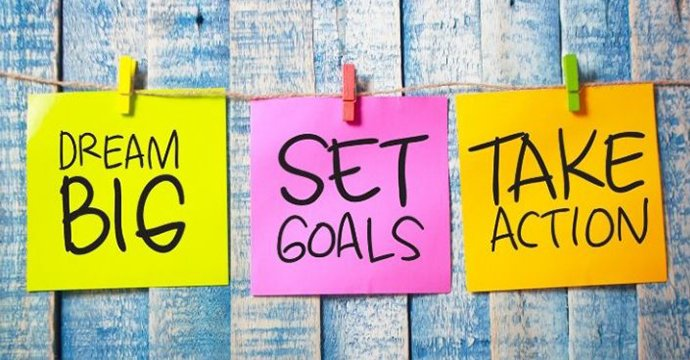 Setting goals for yourself