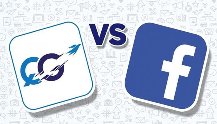 QuitGamble vs Facebook