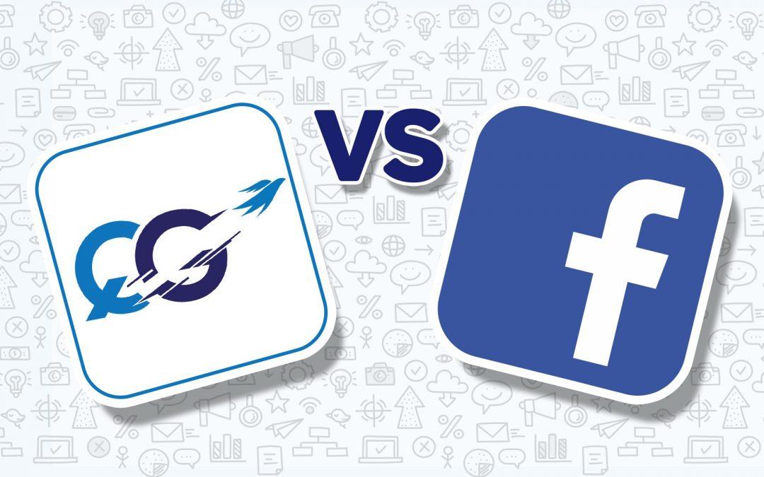 Comparison of QG and Facebook