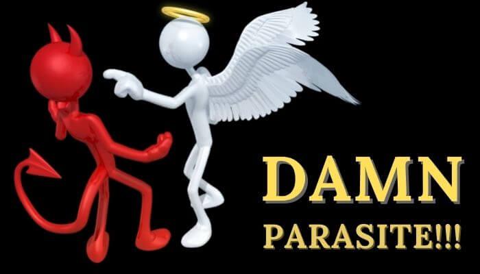 Damn parasite - Gambling devil